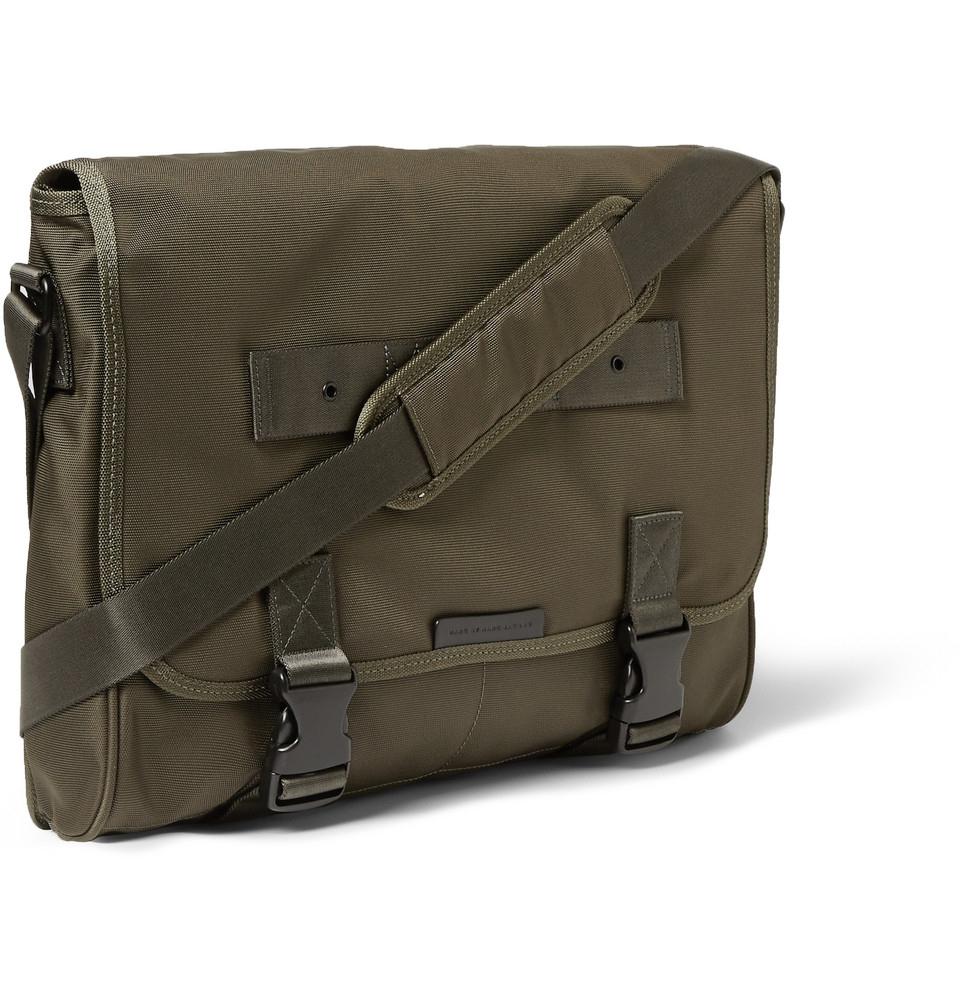 99779da00b11 Lyst - Marc By Marc Jacobs Davey Nylon-Canvas Messenger Bag in Green ...