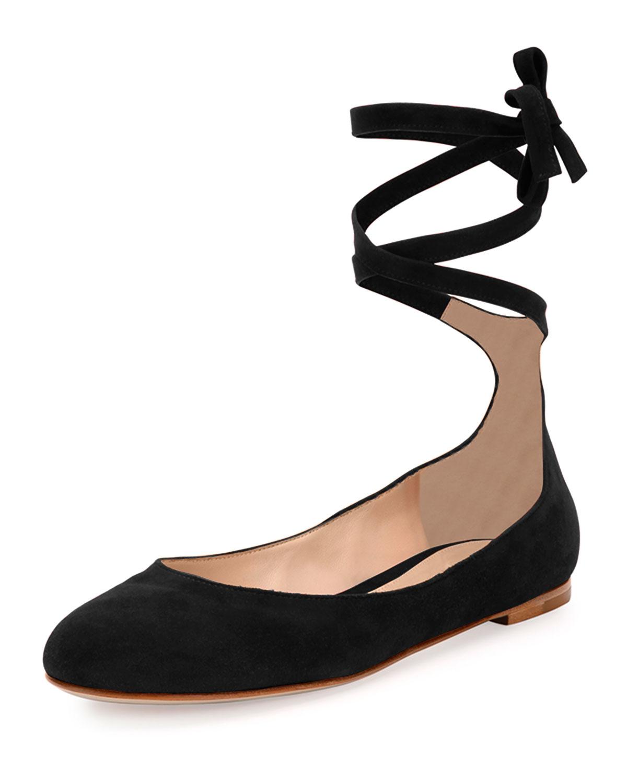 Flat Ballerina Style Shoes