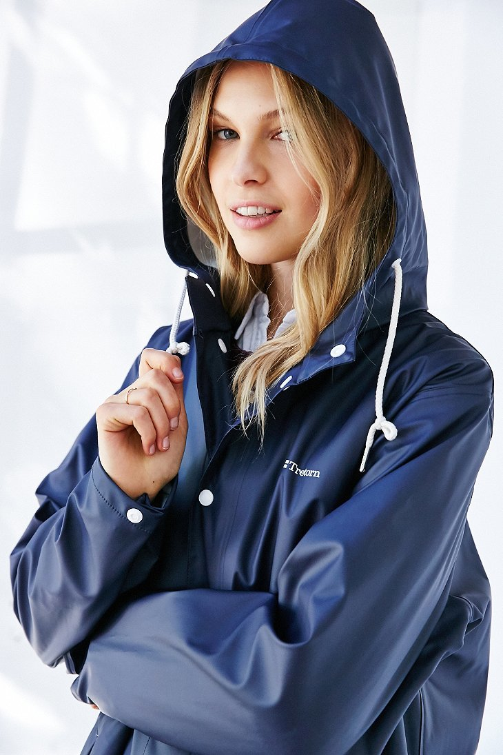 Lyst Tretorn Wings Rain Jacket In Blue