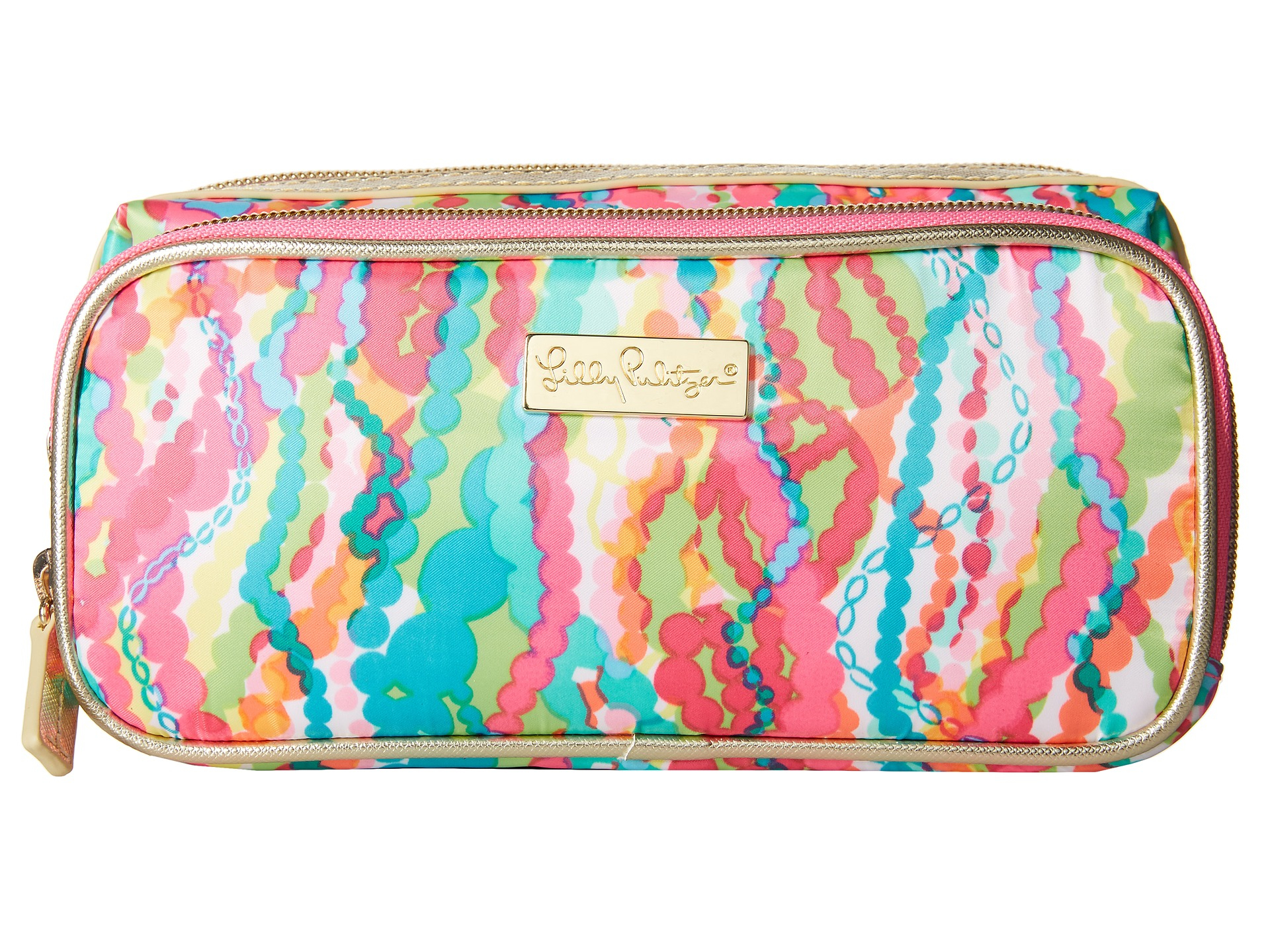 ca93ed3261 Lyst - Lilly Pulitzer Make It Cosmetic Case for Men