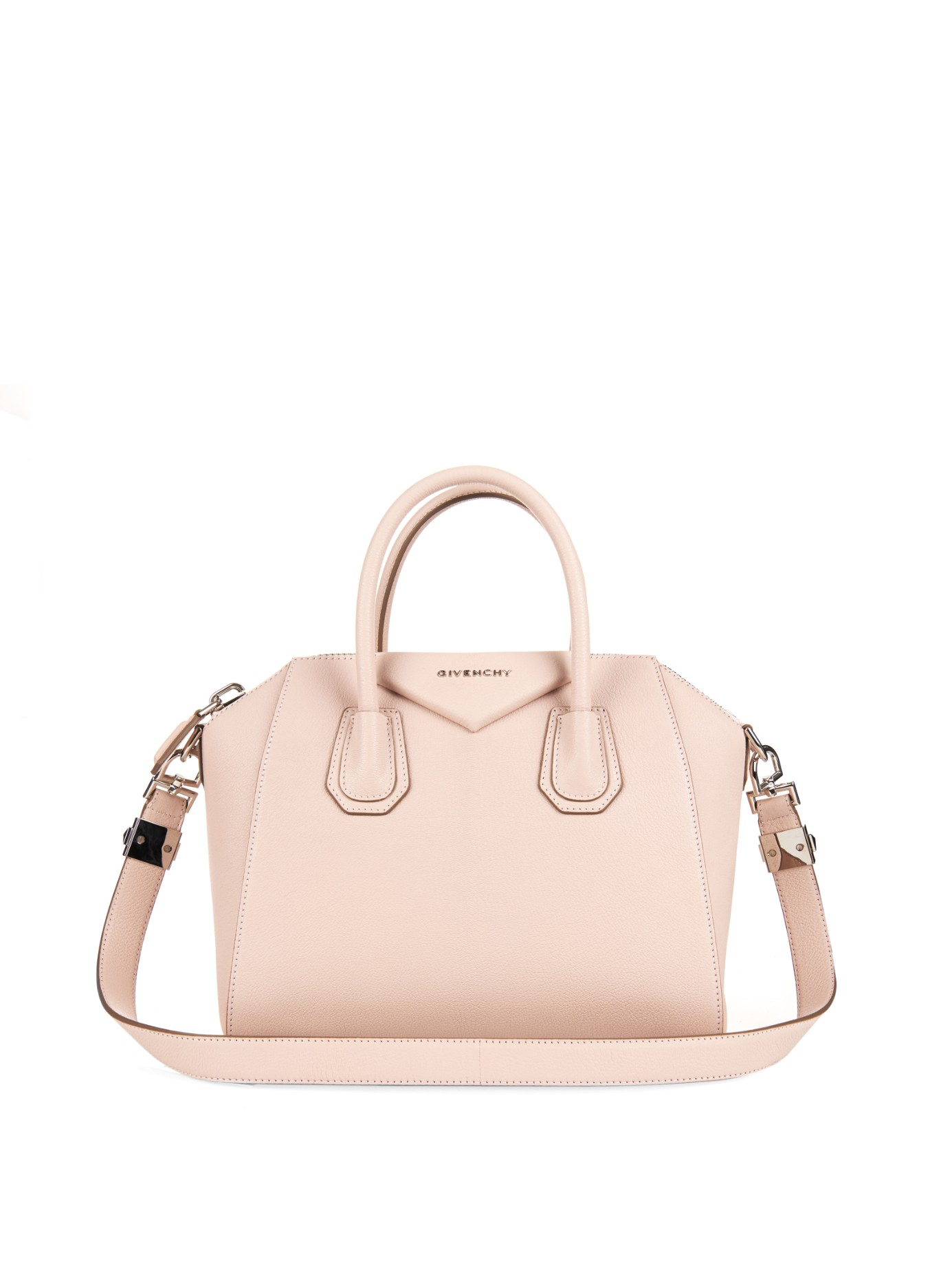 d5122e2f5b1 Lyst - Givenchy Antigona Small Sugar-leather Tote in Pink