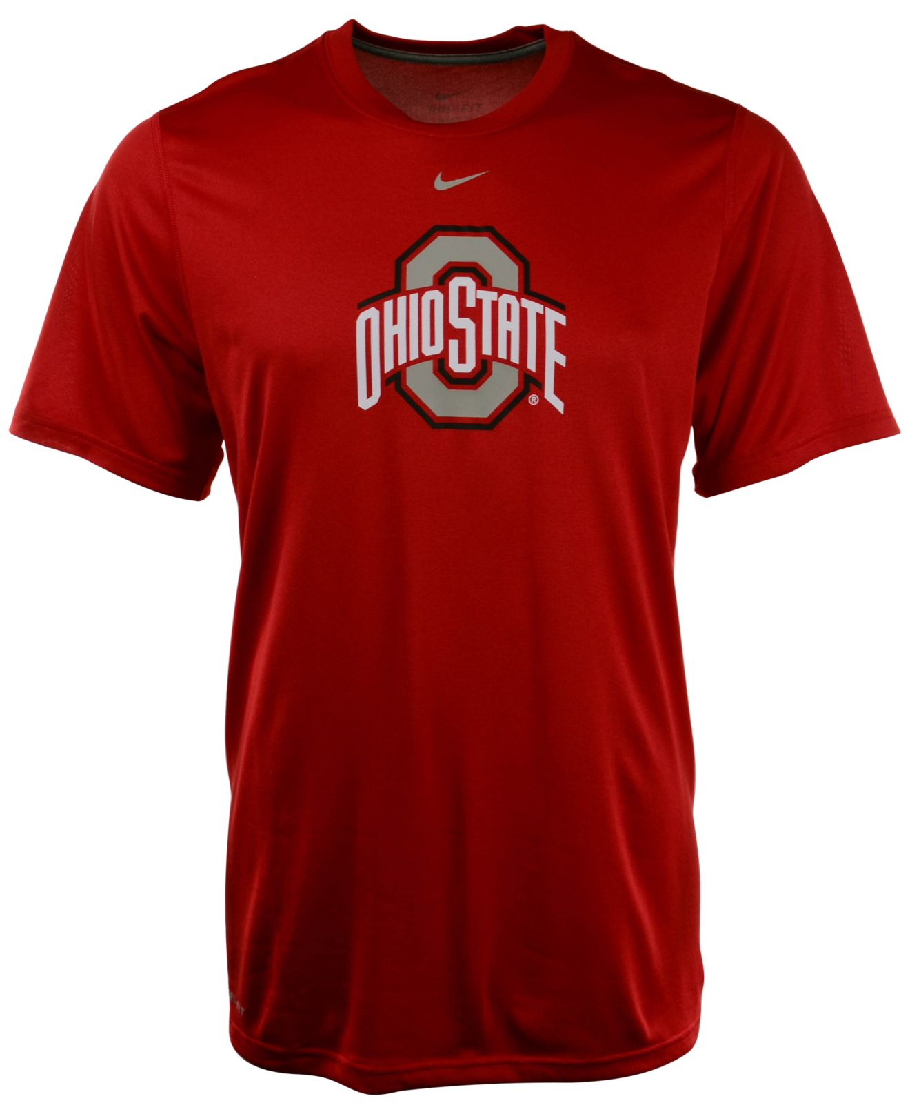 Nike men 39 s short sleeve ohio state buckeyes legend t shirt for Ohio state shirts mens