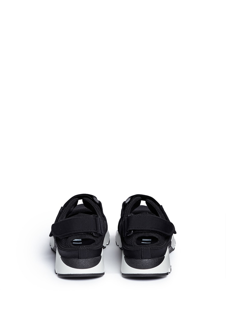 ... Lyst - Marni Strap Mesh Neoprene Sneakers in Black low price sale 50957  b2cdd  1PcX black glitter ... fe8432bf1