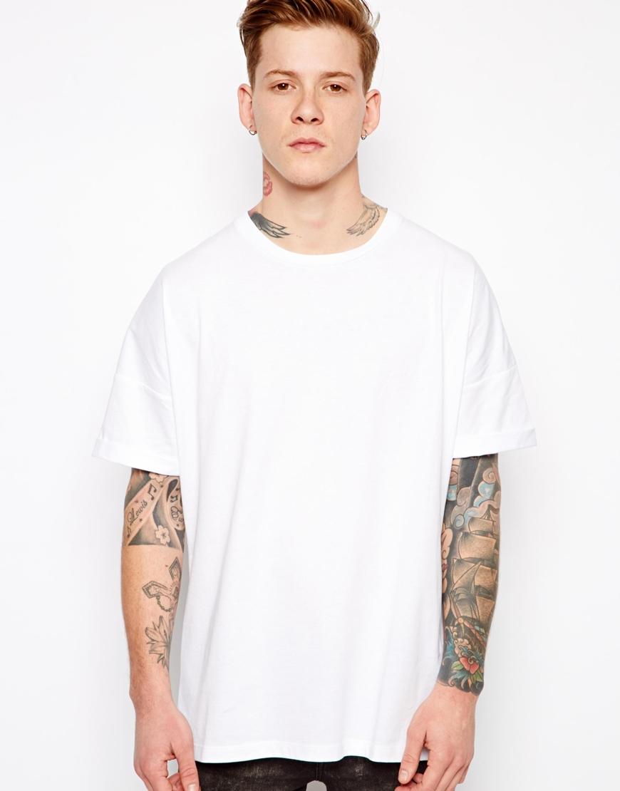 667b1f58fb Black And White T Shirt Mens Asos - DREAMWORKS
