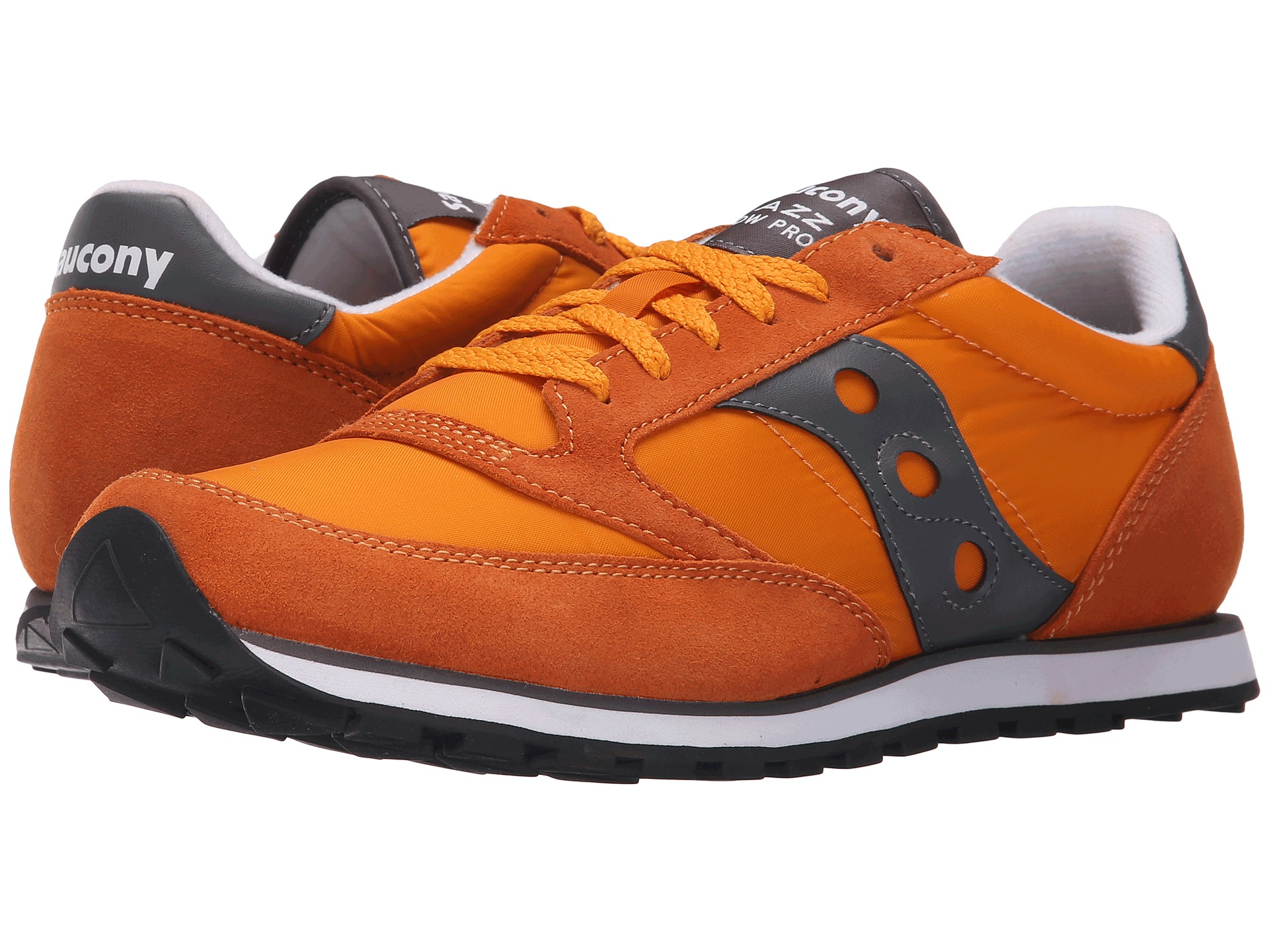 orange saucony sneakers
