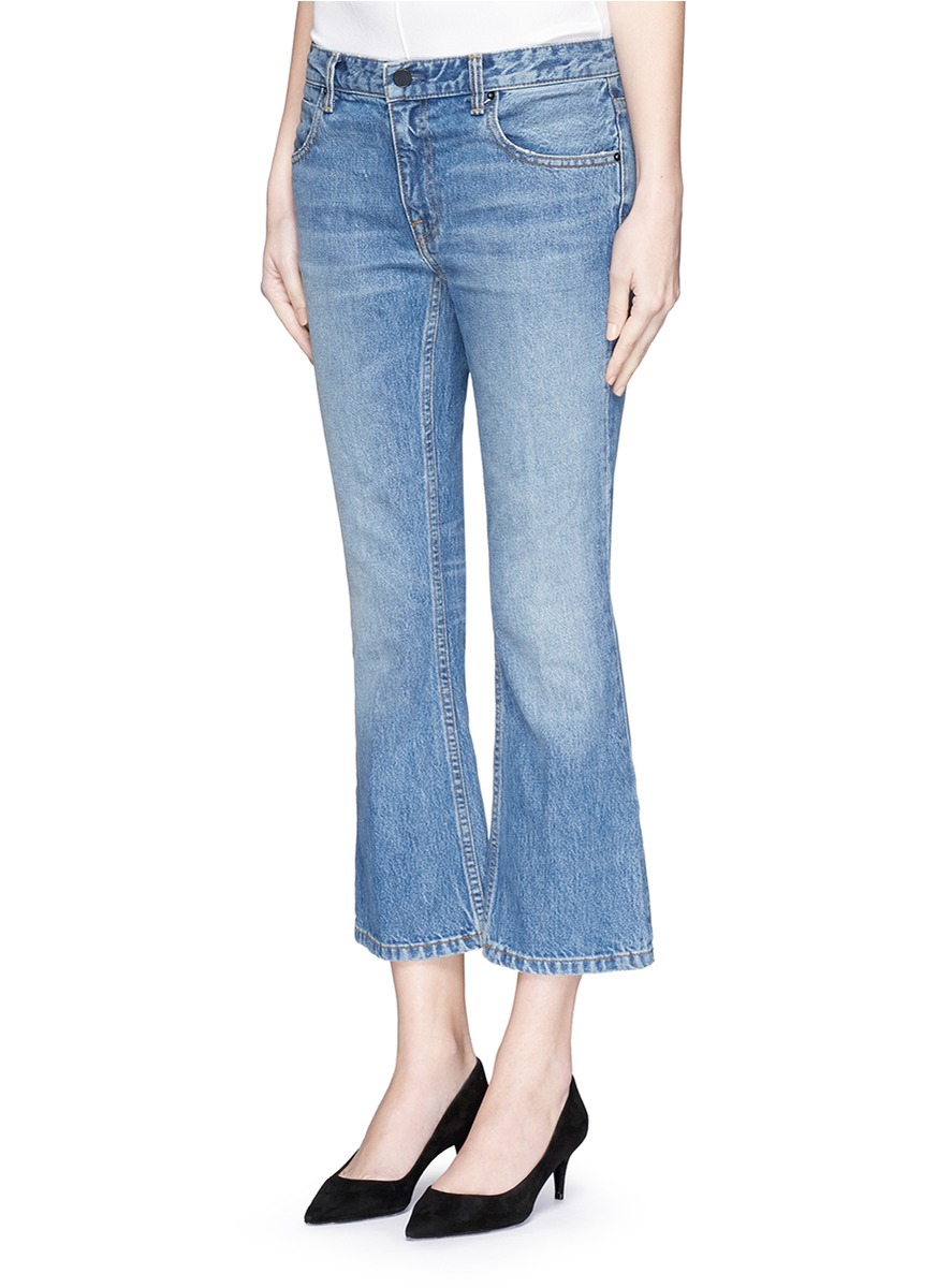 Find a great selection of flare and wide leg jeans for women at nirtsnom.tk Shop by rise, wash, waist size, color and more. Free shipping & returns. Light Blue Wash Medium Blue Wash Dark Blue Wash White Wash Grey Wash Black Wash Colorful Metallic Printed Coated. SLINK Jeans High Waist Crop Flare Jeans (Nikki) (Plus Size).