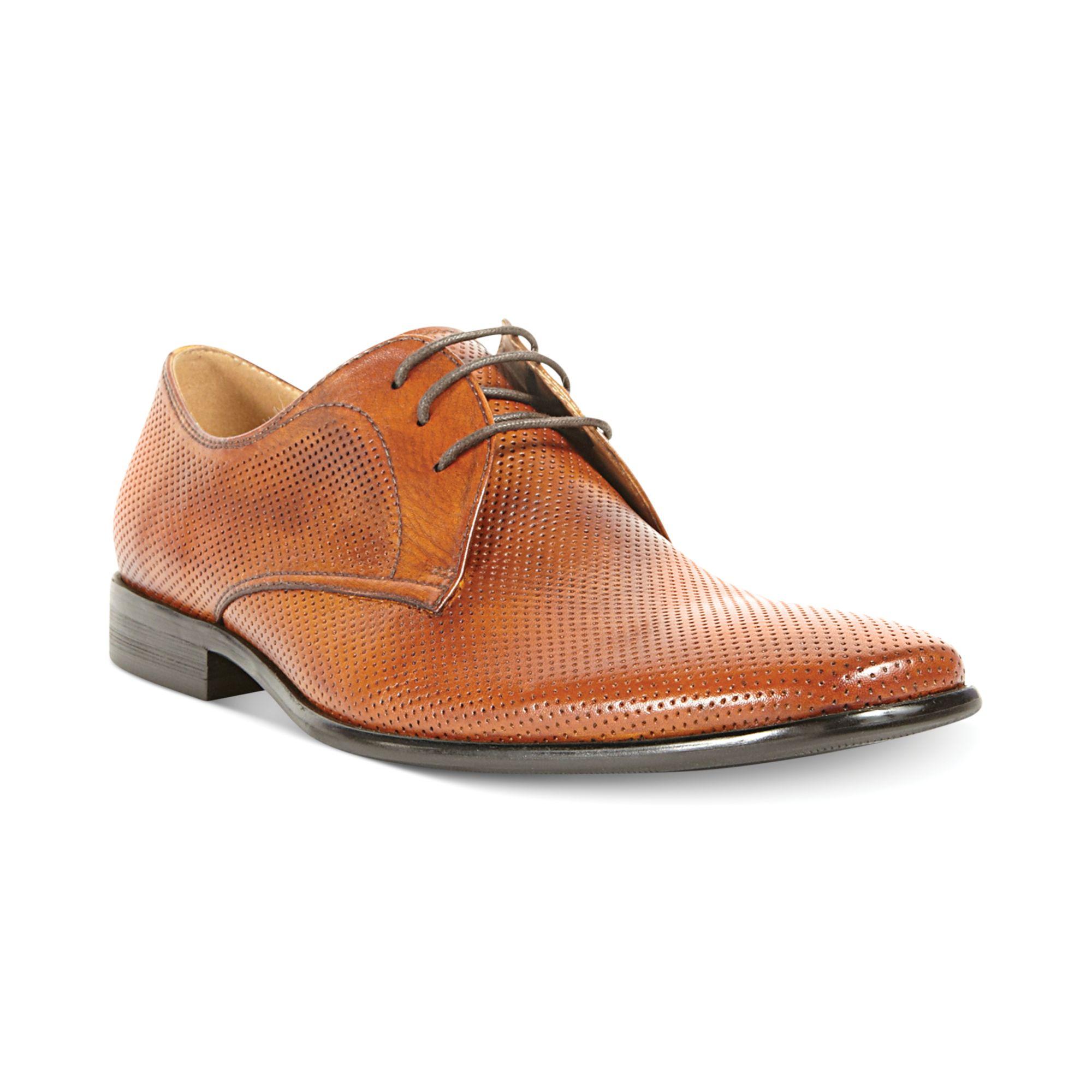 Steve Madden Havin Dress Shoes in Brown for Men (Cognac ...