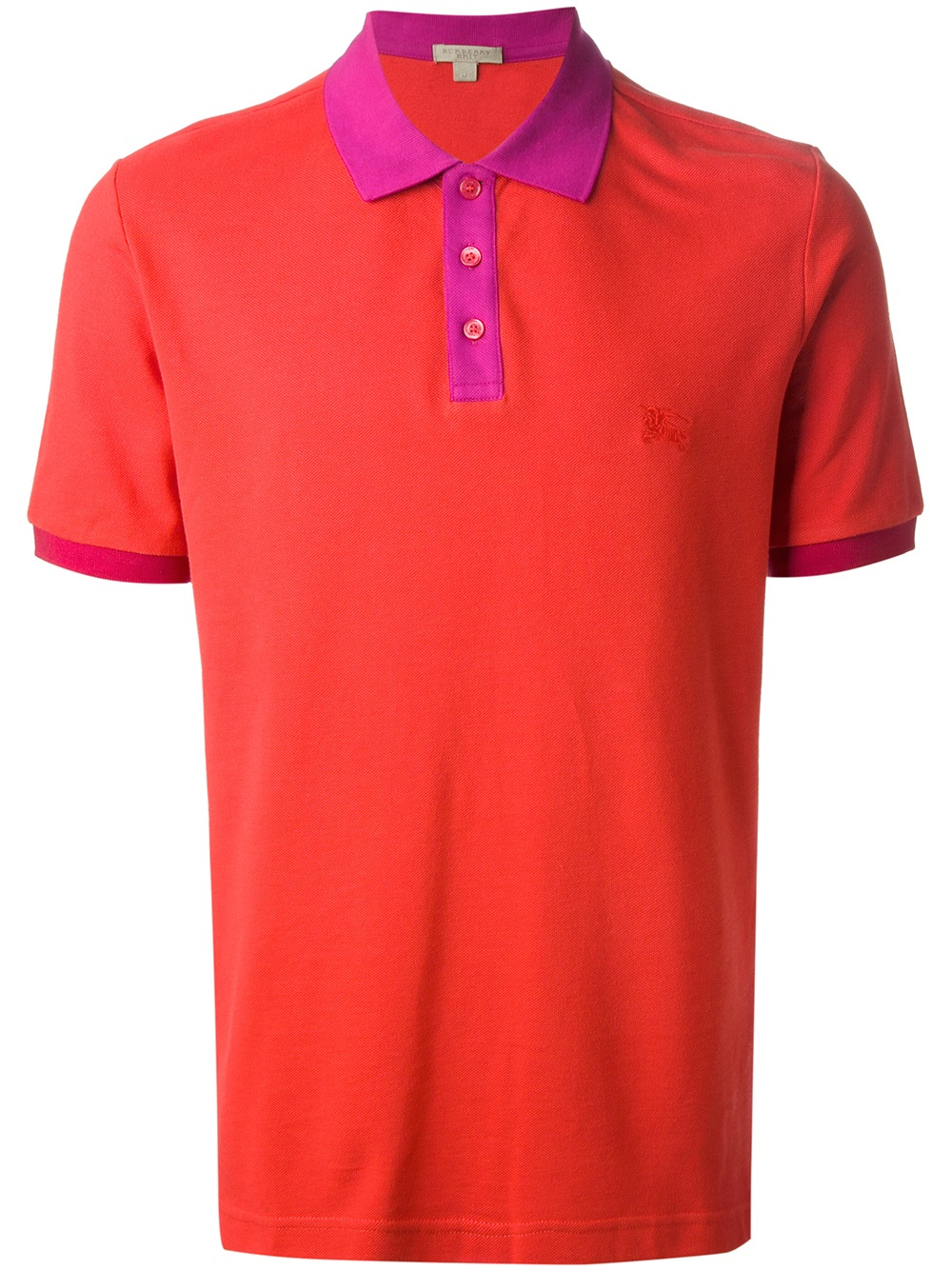 Burberry Brit Logo Polo Shirt In Red For Men Lyst