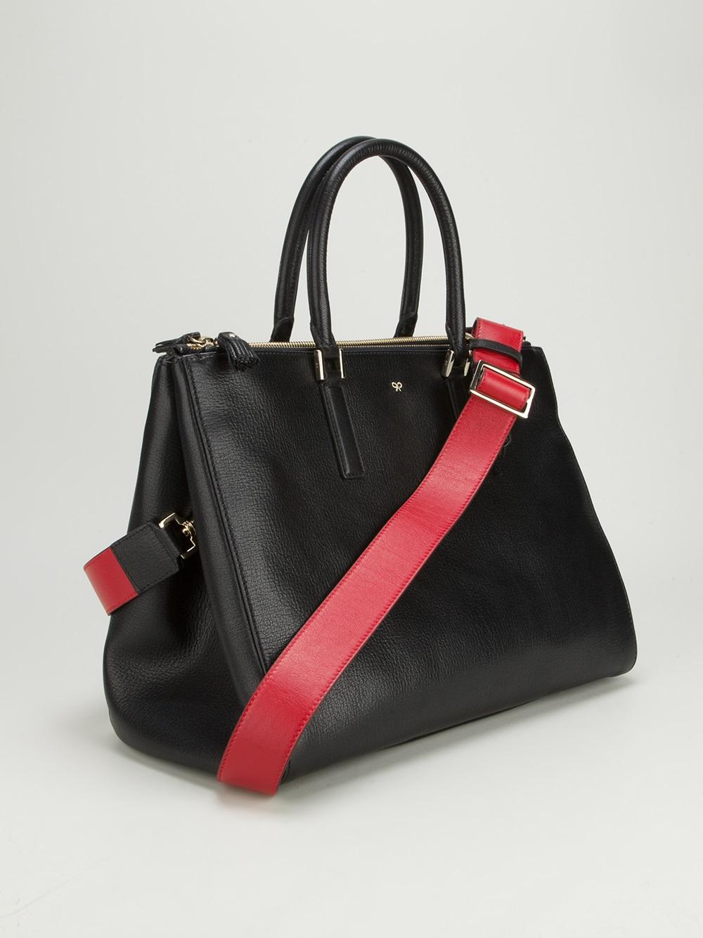 Anya hindmarch Ebury Tote Bag in Black