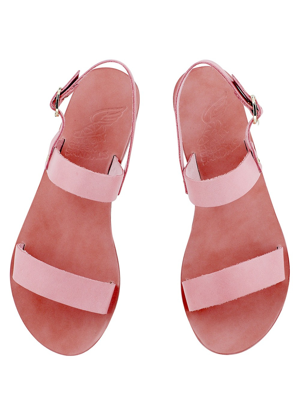 Ancient Greek Sandals Clio Pink Leather Sandal In Pink Lyst