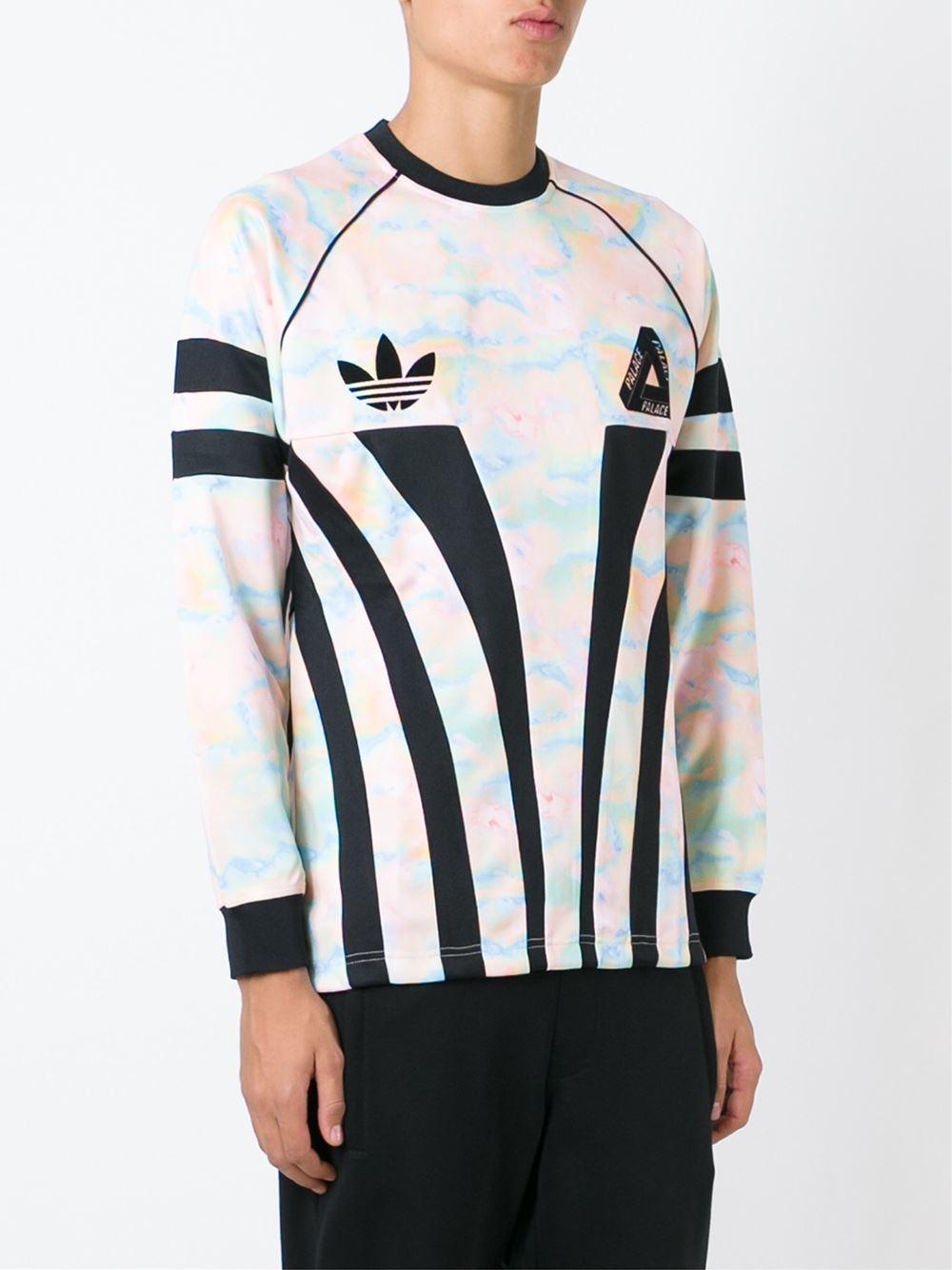 ' X For Lyst Black Originals Palace' Sweatshirt In Men Adidas vw5qERn