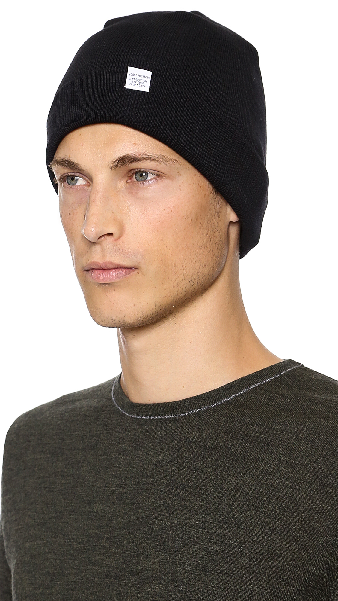 Norse Projects Norse Top Beanie in Black for Men - Lyst 82ee0b05f60