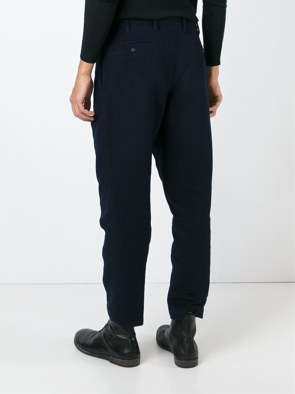 loose fit trousers - Blue The Gigi eMm64