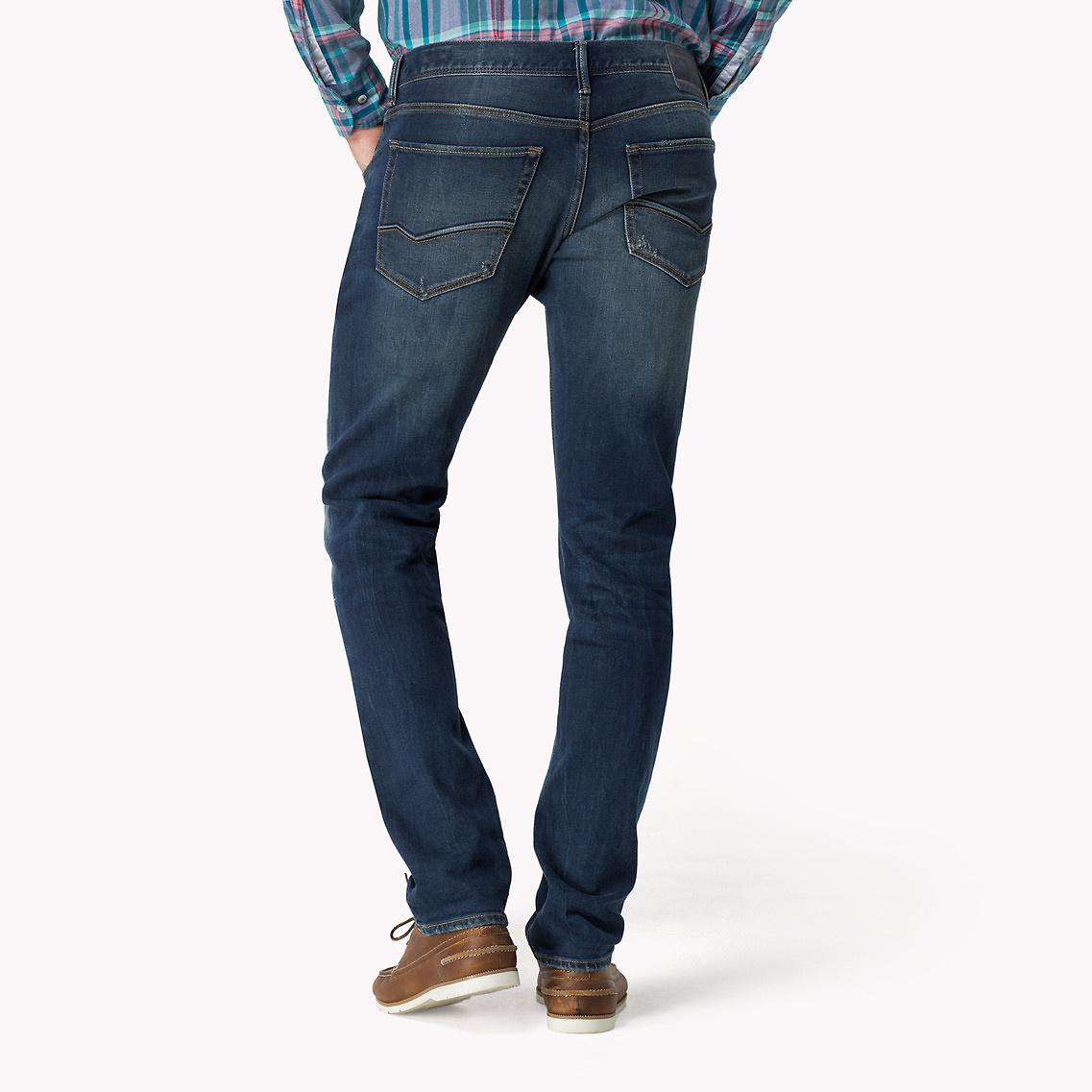 19f062569 Tommy Hilfiger Slim Fit Jeans in Blue for Men - Lyst