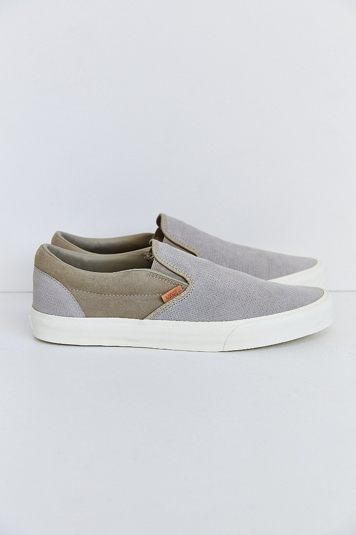 30465b4694 Lyst - Vans Classic California Knit Suede Slip-On Men S Sneaker in ...