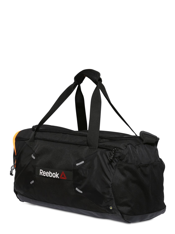 e7864125ca86 Lyst - Reebok 48 L Nylon Ripstop Duffel Gym Bag in Black for Men