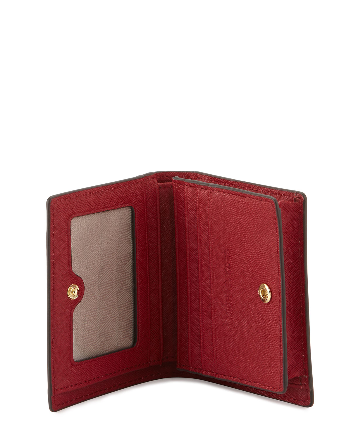 a5bbcd2d22b4 MICHAEL Michael Kors Jet Set Travel Flap Card Holder in Red for Men ...