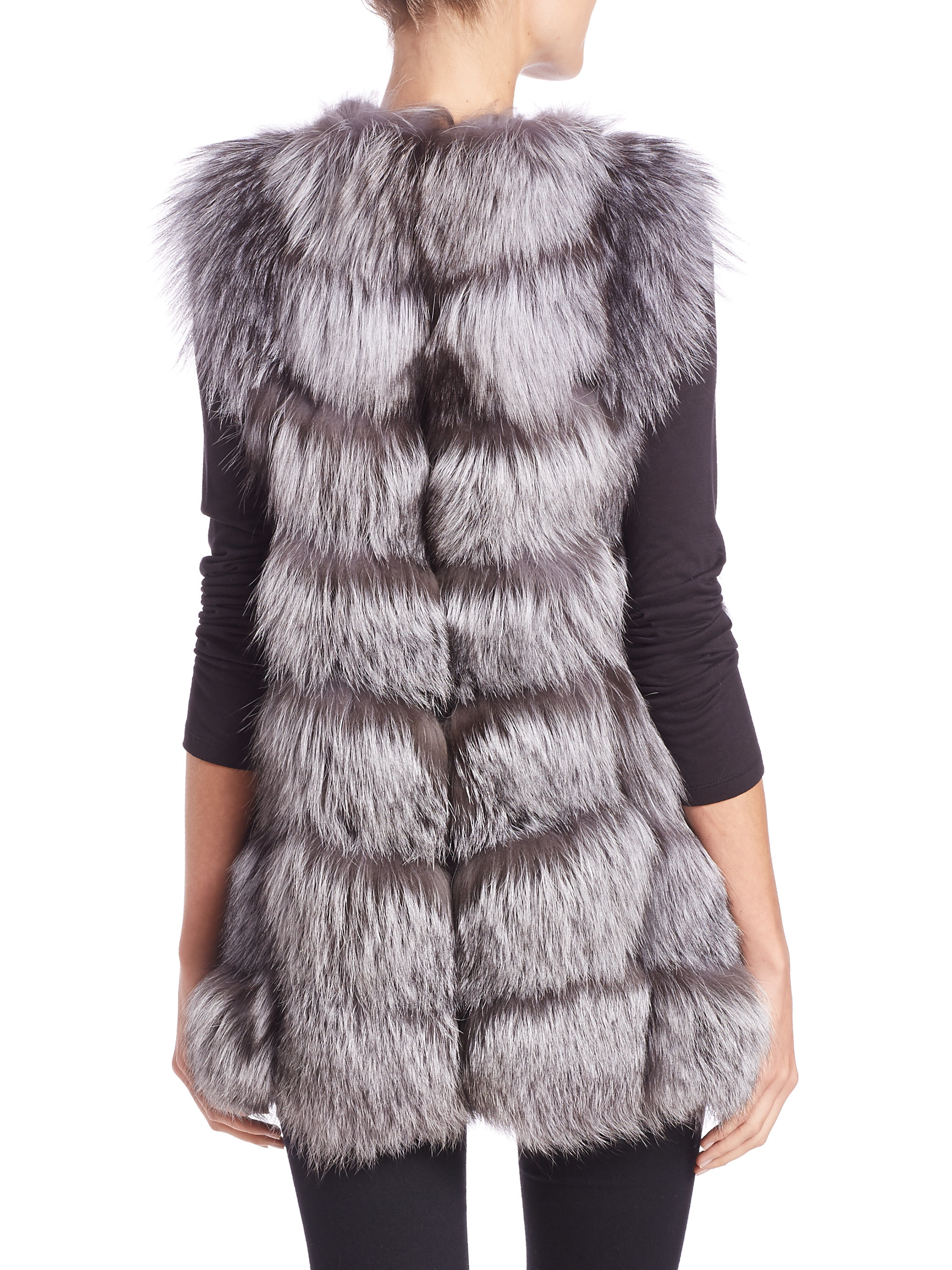 Get Shopping Online High Quality Yves Salomon long mink fur gilet Outlet Cheapest Free Shipping Fake Cheap Sale Visa Payment QIRJDy