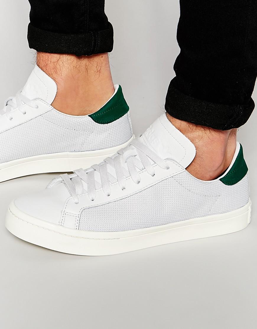 Lyst - adidas Originals Court Vantage Trainers S78762 in White for Men 026c8a6d3