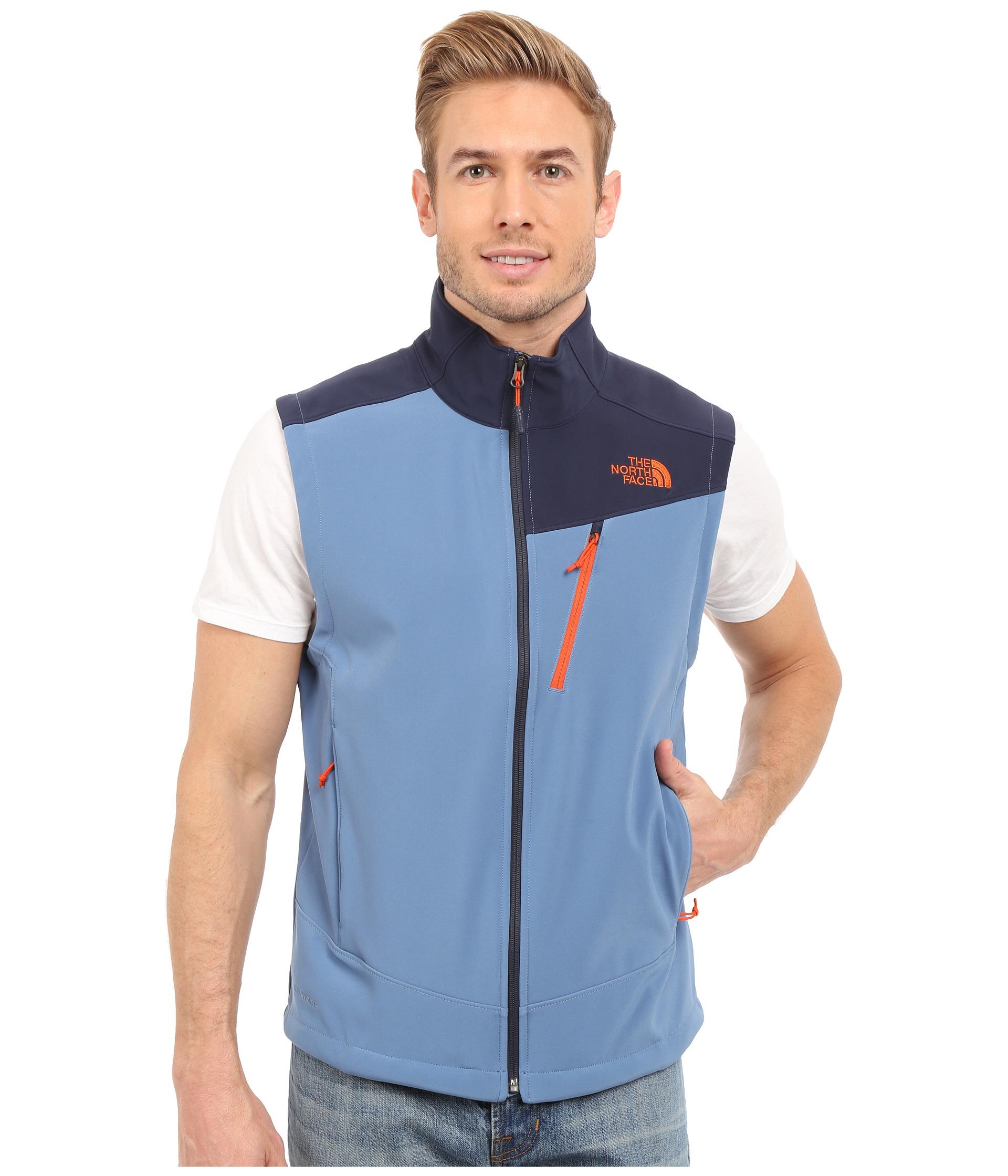 ccaf461d60e2 Lyst - The North Face Apex Shellrock Vest in Blue for Men