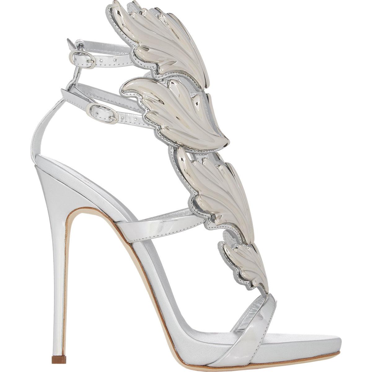 69690eda28b Lyst - Giuseppe Zanotti cruel Summer Sandals in Metallic