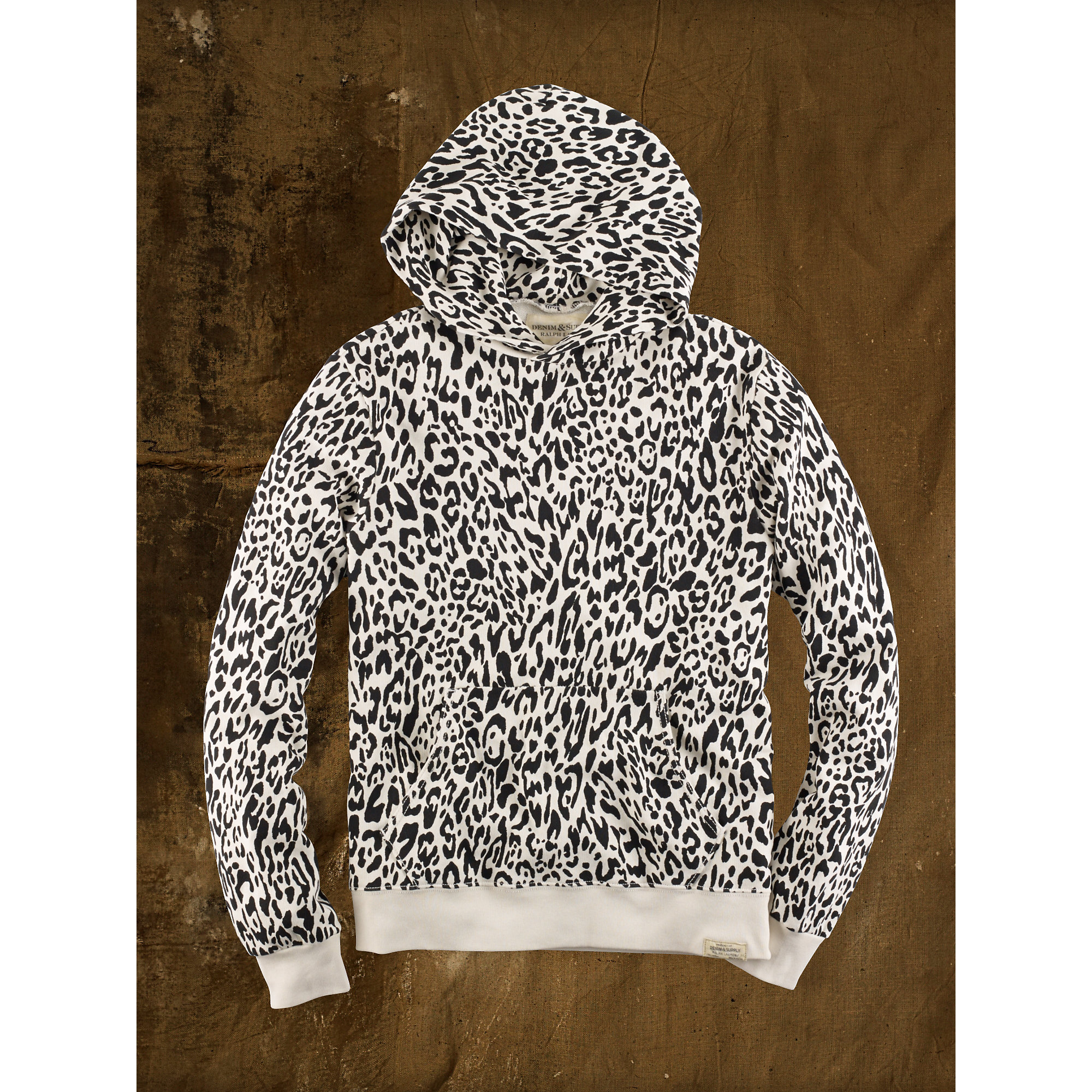0f40ca8be9a9 Denim & Supply Ralph Lauren Snow Leopard Hoodie for Men - Lyst