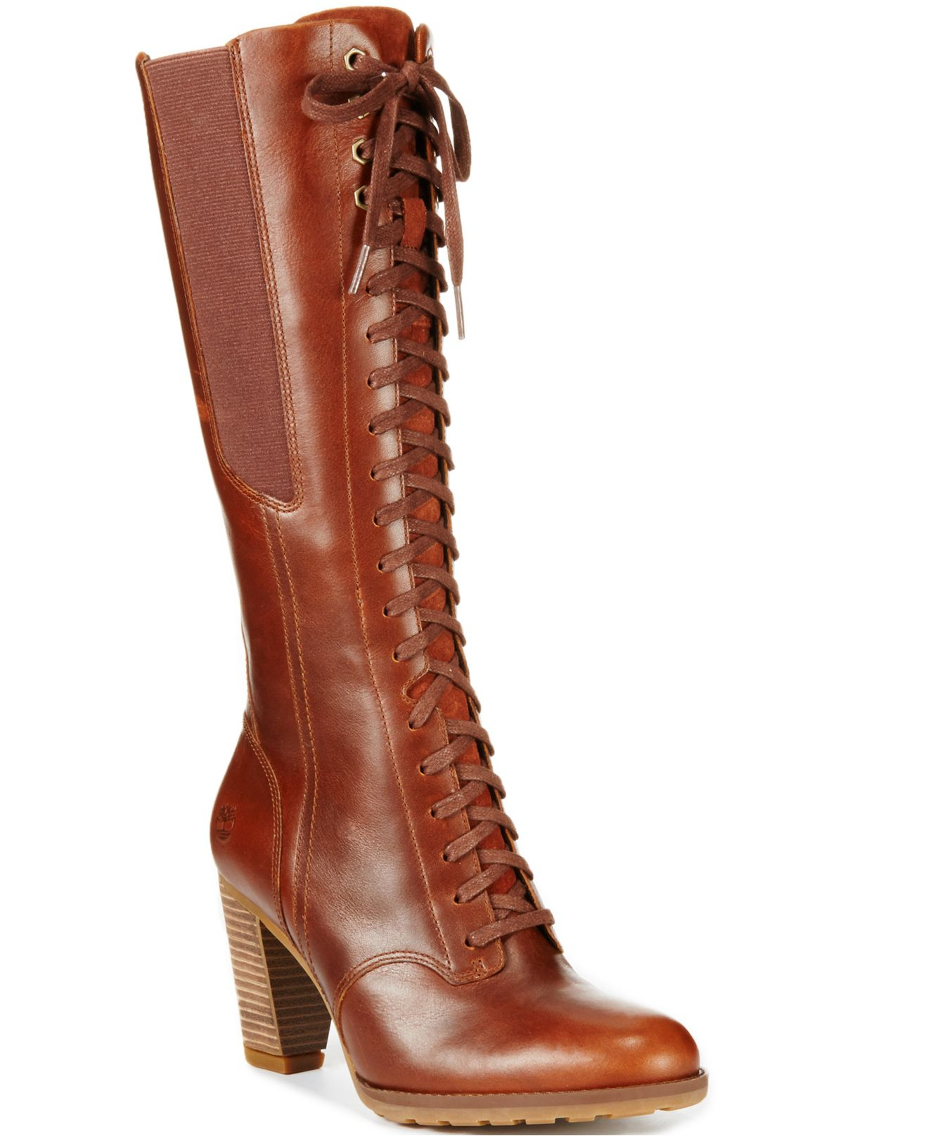 6ee6fd18712 Lyst - Timberland Women S Earthkeepers Stratham Heights Tall Lace ...