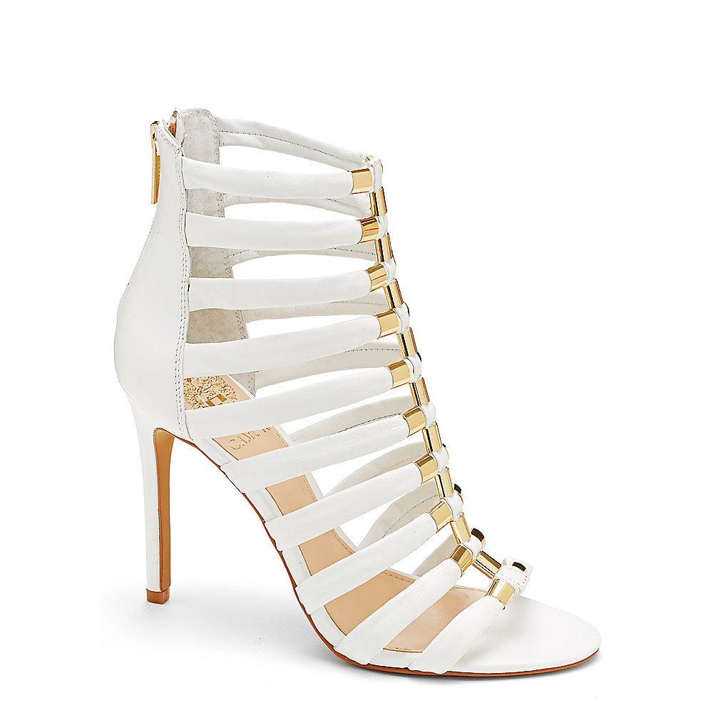 Lyst Vince Camuto Troy Gold Accent Gladiator High Heel