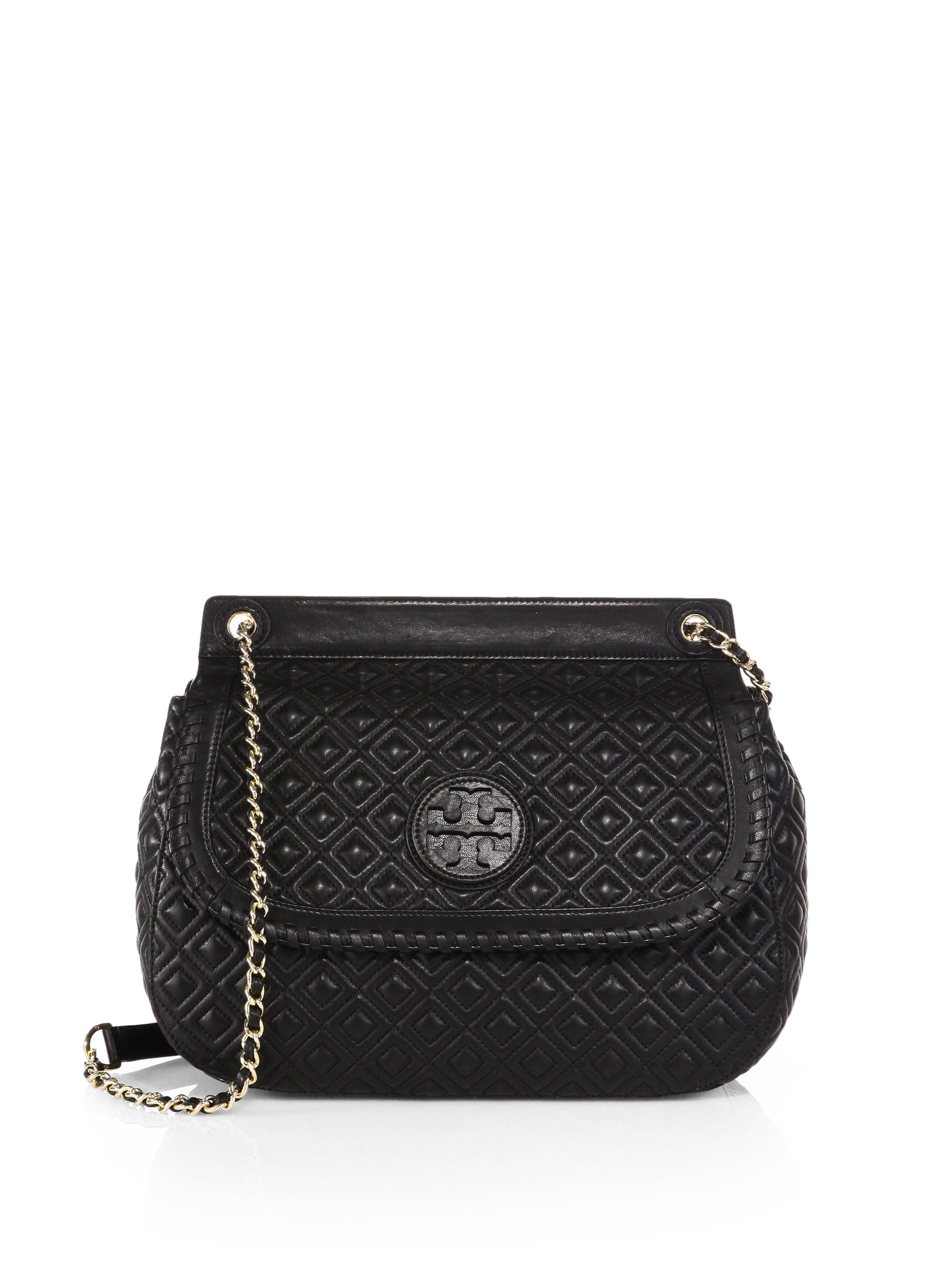 Gallery. Previously sold at  Saks Fifth Avenue · Women s Saddle Bags  Women s Tory Burch Marion ... 5207e09a27986