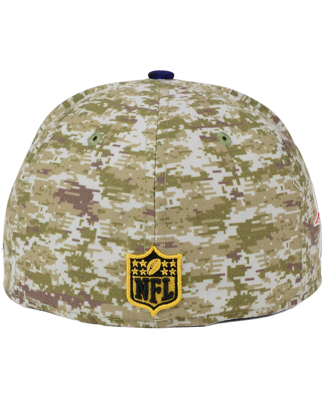 pretty nice 0b7df b7f05 ... sweden lyst ktz new england patriots salute to service 59fifty cap in  e1371 267ab
