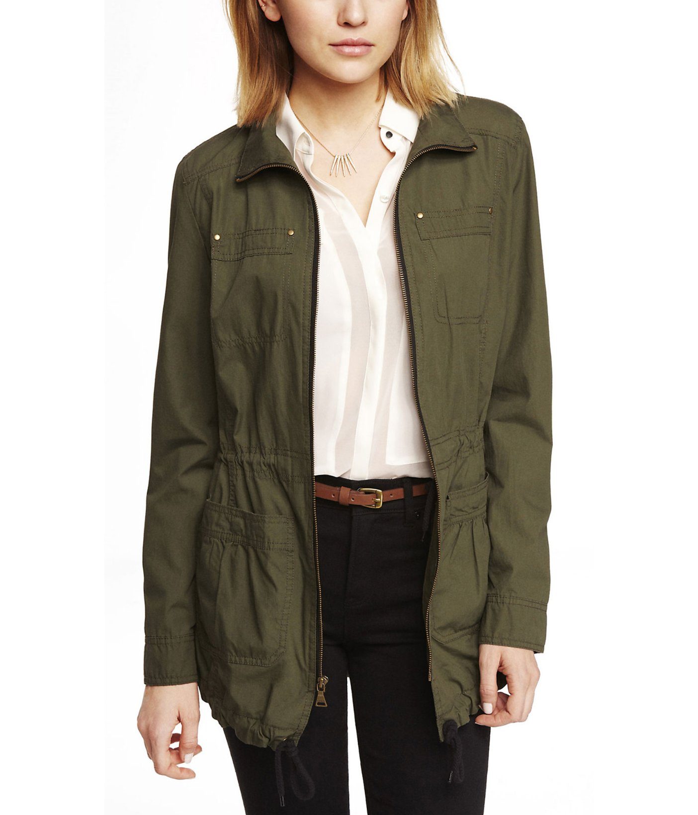 Express Green Jacket