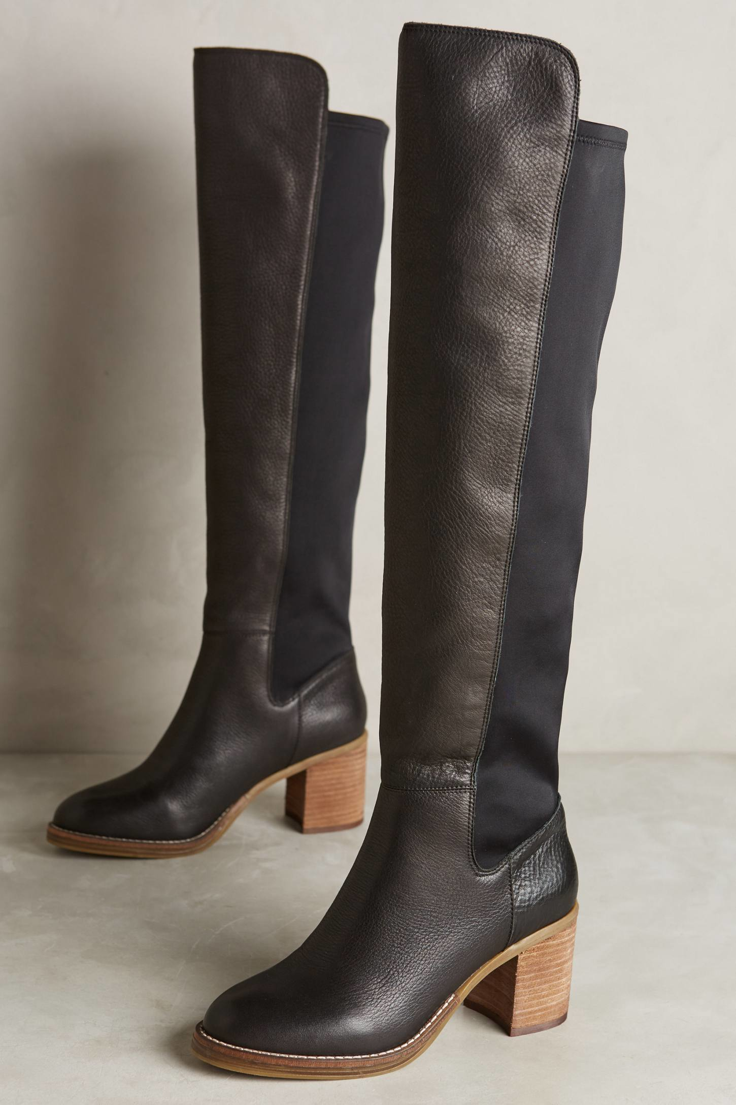 Kelsi dagger brooklyn Emma Tall Boots in Black | Lyst