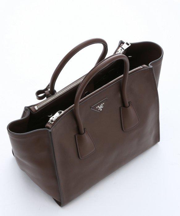 921b60df8d70 Prada Cocoa Calfskin Large Convertible Tote Bag in Brown - Lyst