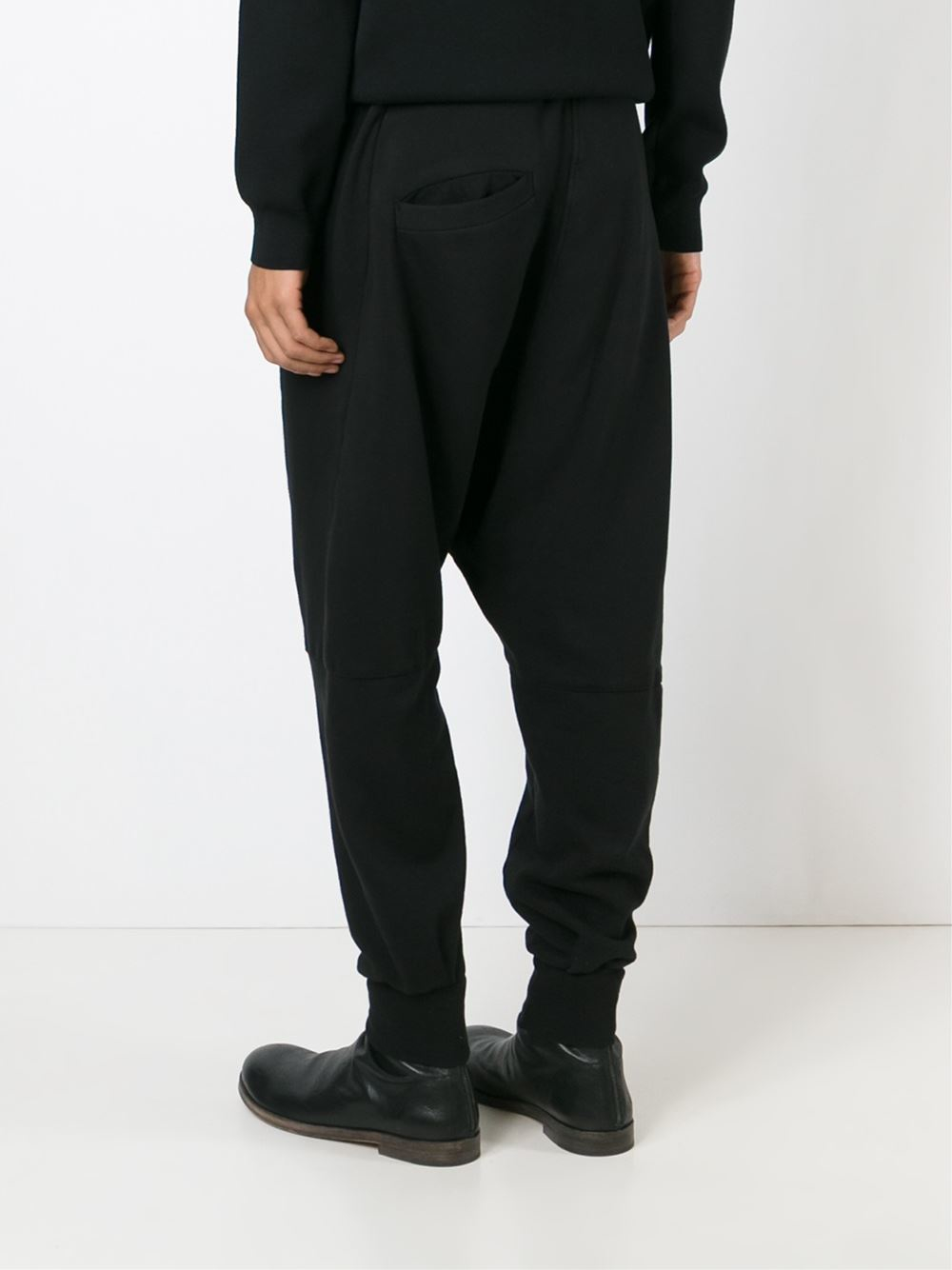 Lastest  Wang CrepeSatin Drop Crotch Pants  WOMEN  OPENING CEREMONY