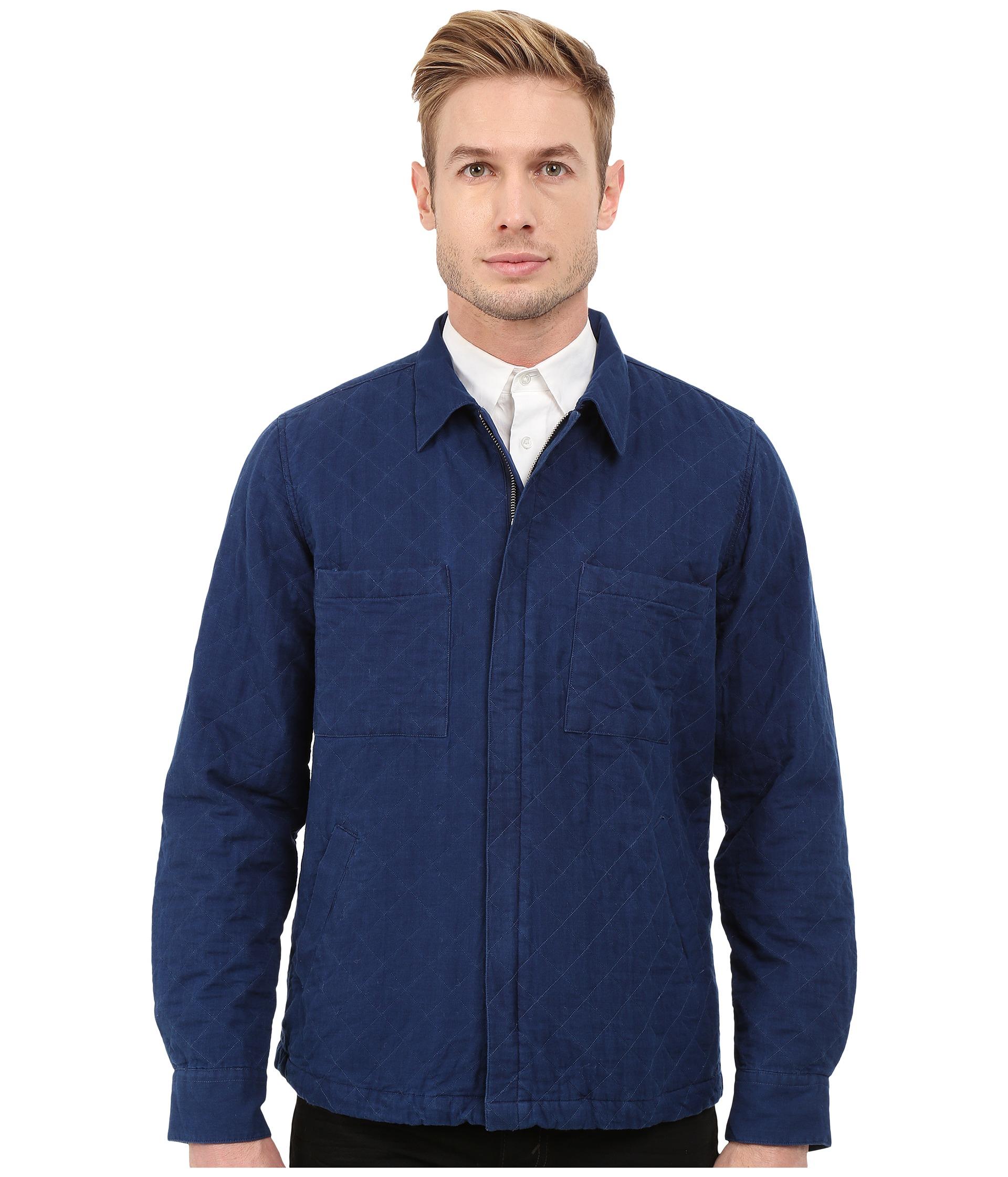 Gant rugger R. Indigo Twill Shirt Jacket in Blue for Men | Lyst
