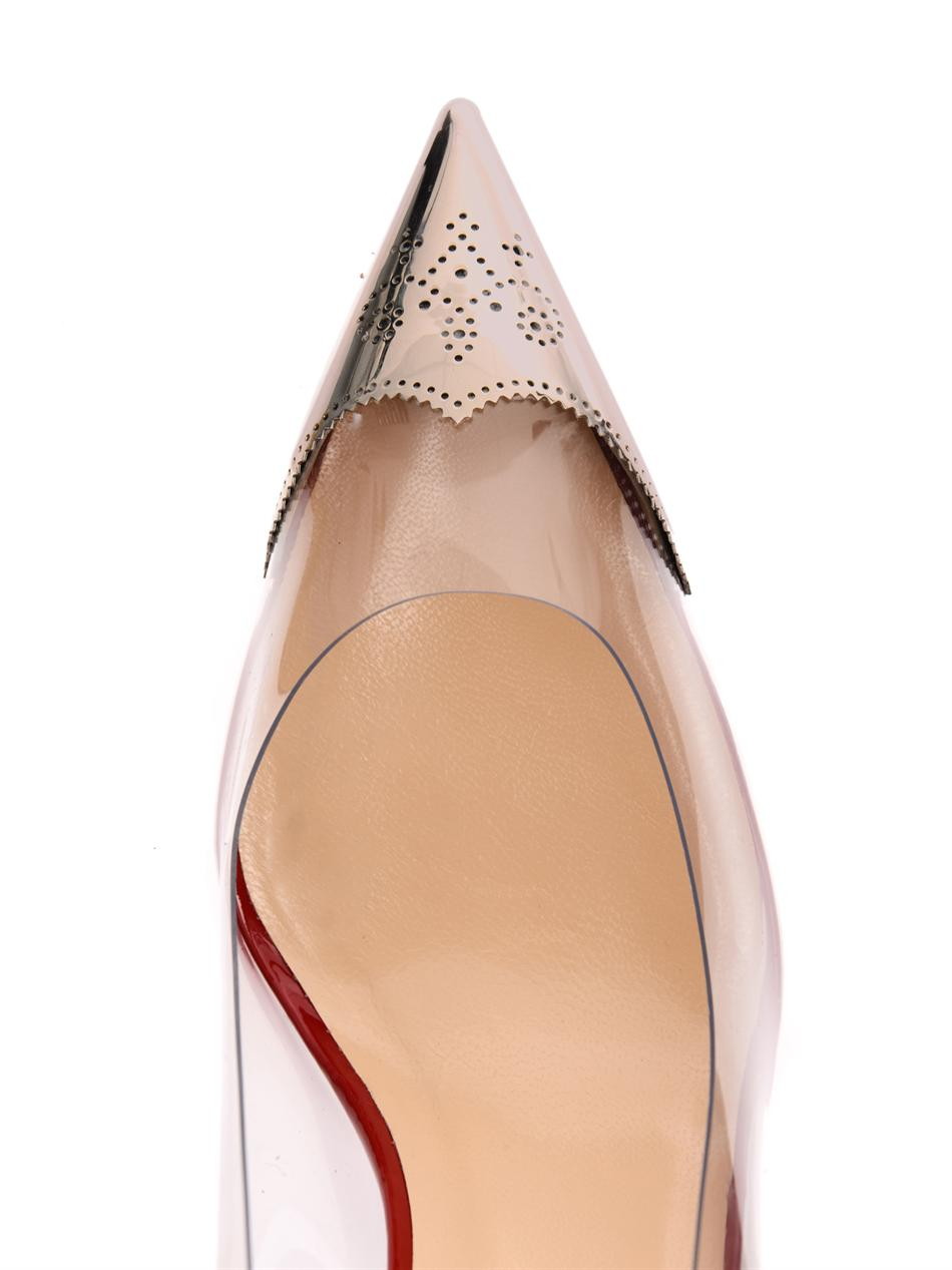 Lyst Christian Louboutin Djalouzi 100mm Point Toe Pumps