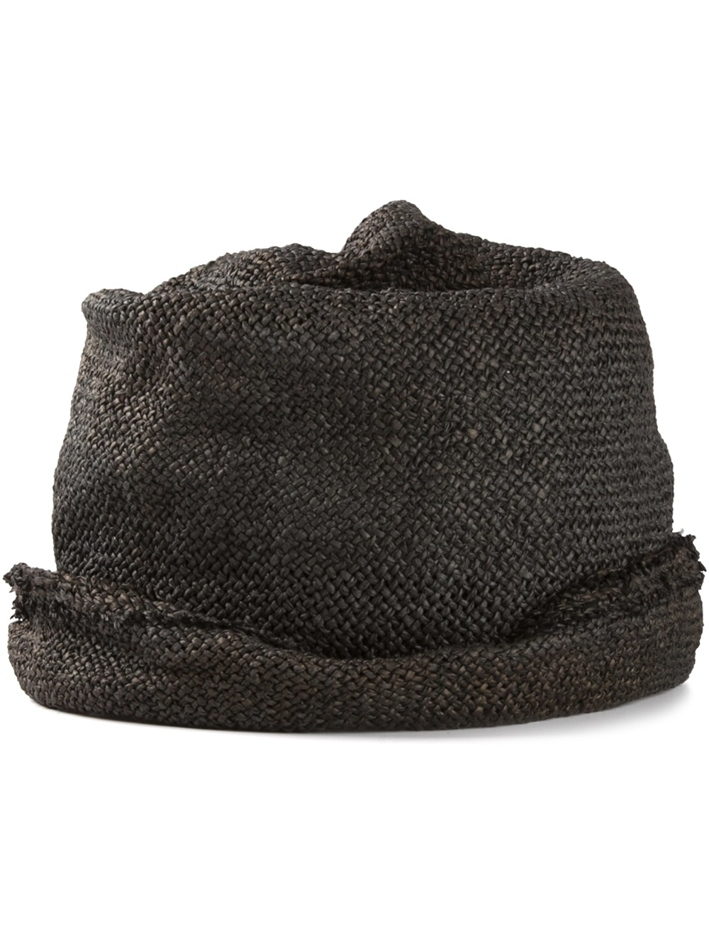 55729e441a3 Lyst - Reinhard Plank Woven Paper Hat in Brown for Men