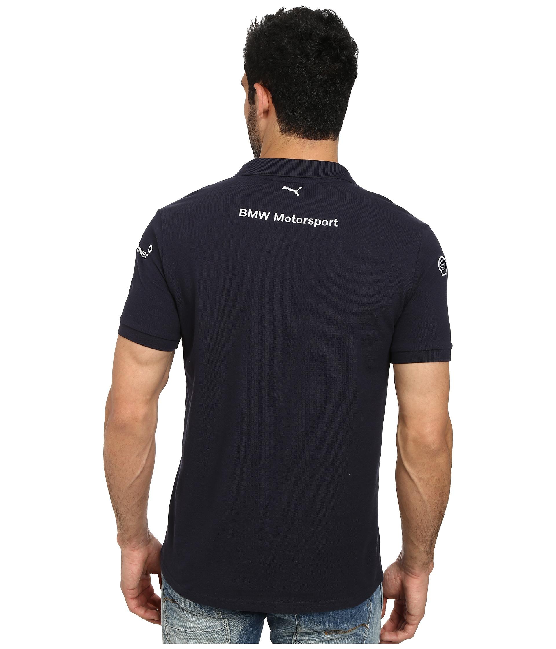 18bd0753c97 Lyst - PUMA Bmw Team Polo in Blue for Men