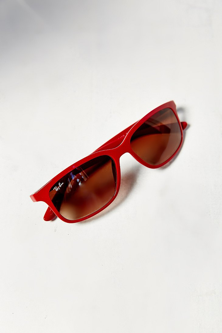 red wayfarer sunglasses s0zc  Gallery