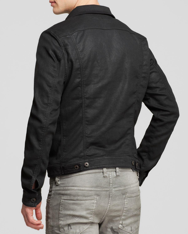 Diesel Elshar Denim Jacket - Bloomingdale's Exclusive in Black for ...