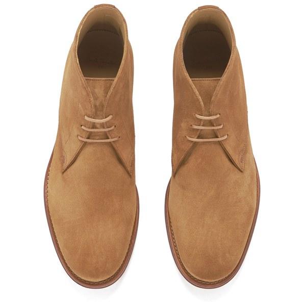 Paul smith Men\'s Morgan Suede Desert Boots in Brown for Men | Lyst