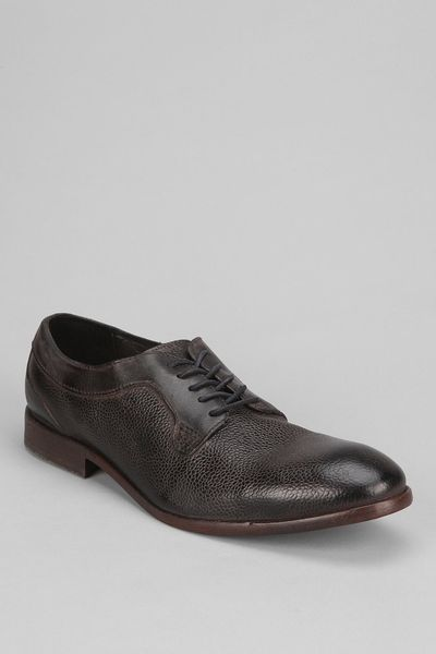 Urban Outfitters H By Hudson Gould Grain Oxford Shoe In Black For Men | Lyst