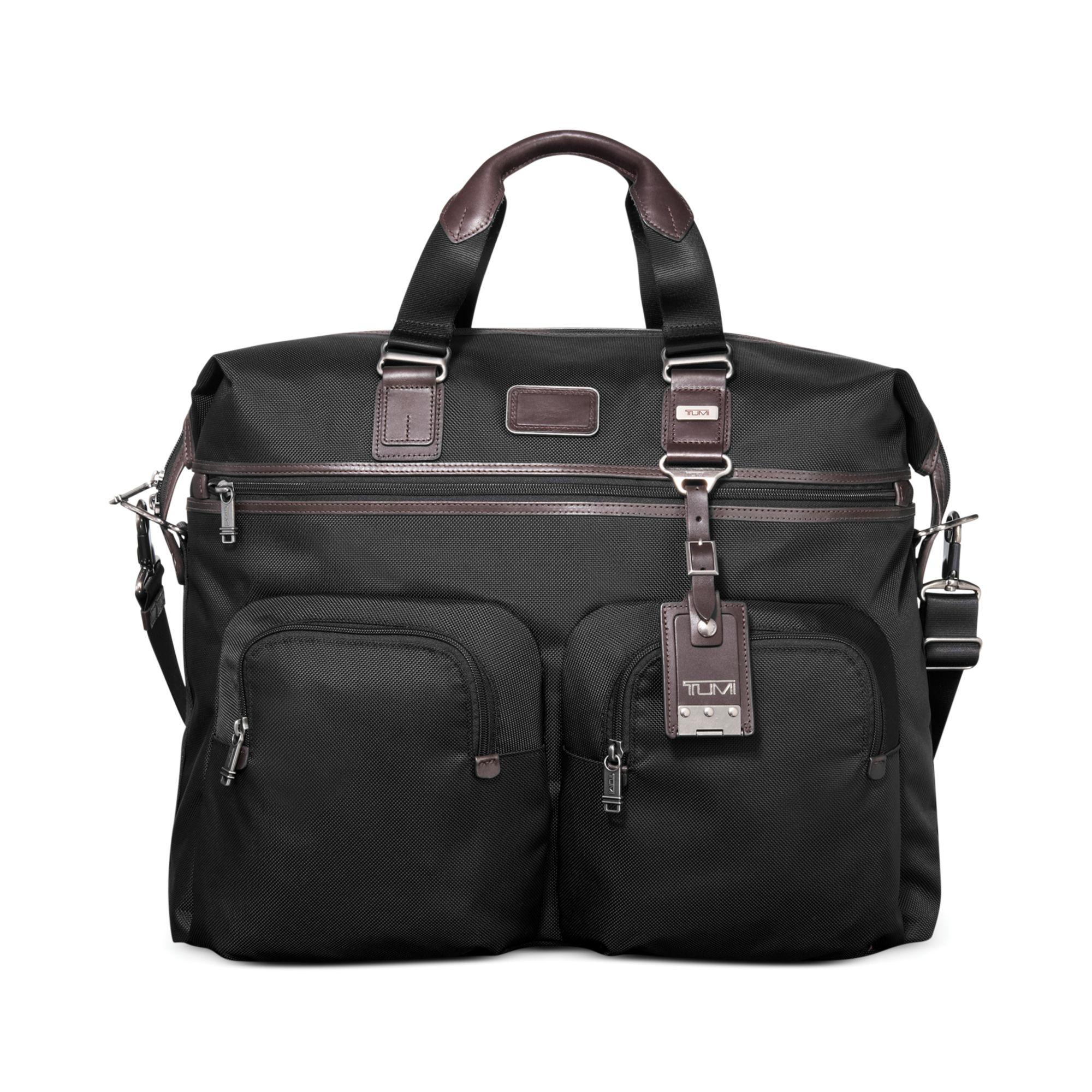Tumi Alpha Bravo Kessler Large Duffel Bag in Black for Men ...