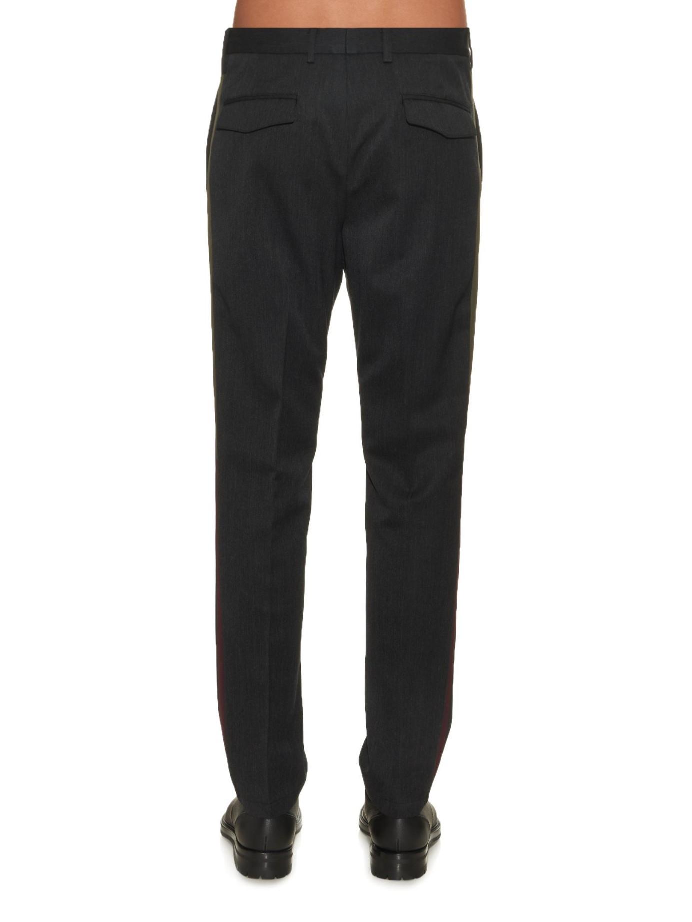 Wool trousers grey Valentino GMJFVs4s