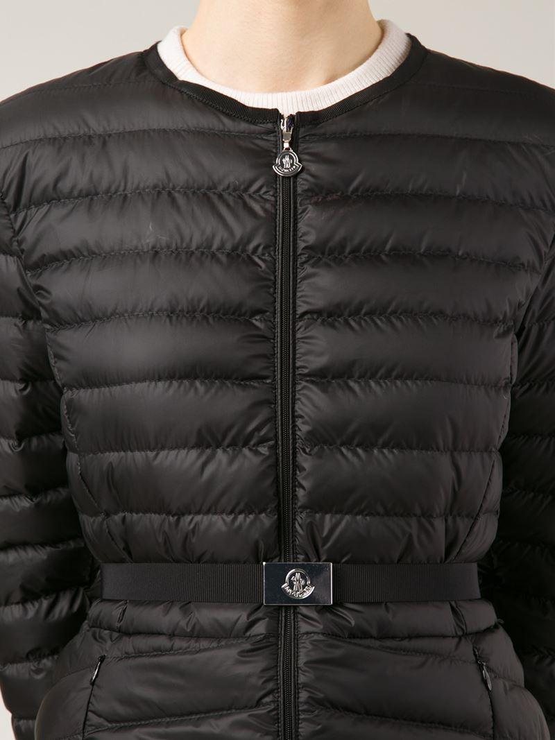 moncler morvan quilted jacket