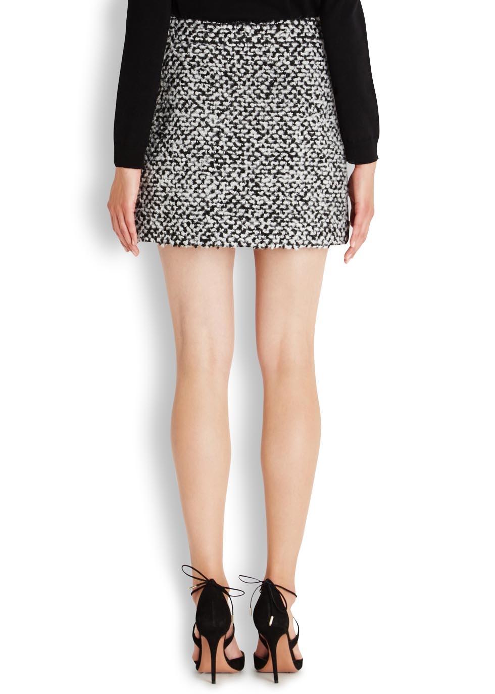 crystal bernard in short skirts