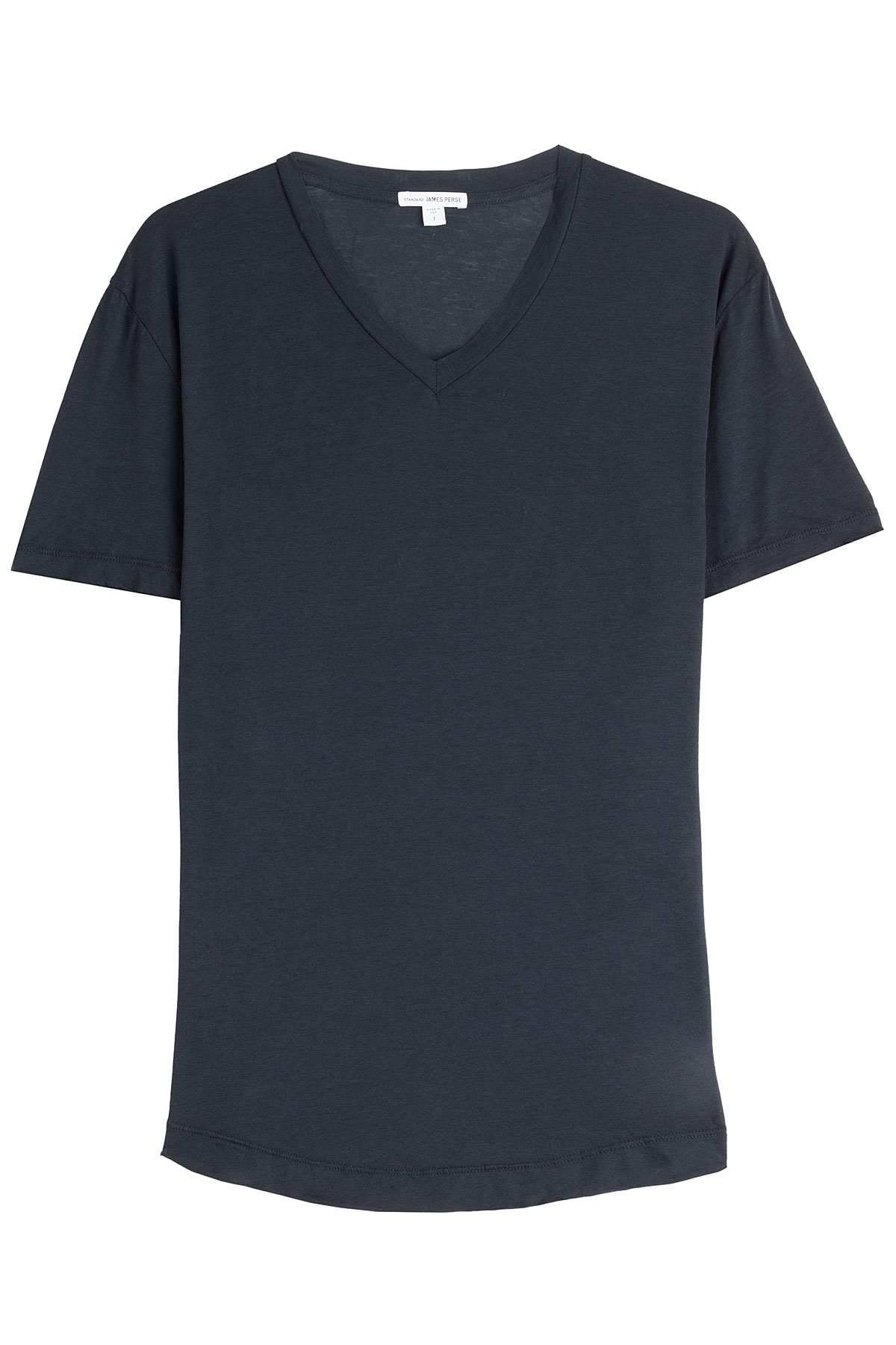 James perse cotton t shirt blue in blue for men lyst for James perse t shirts sale