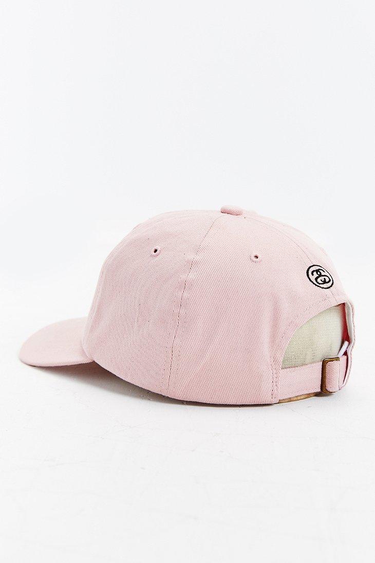c5559e8b9d8 stussy dad hat pink