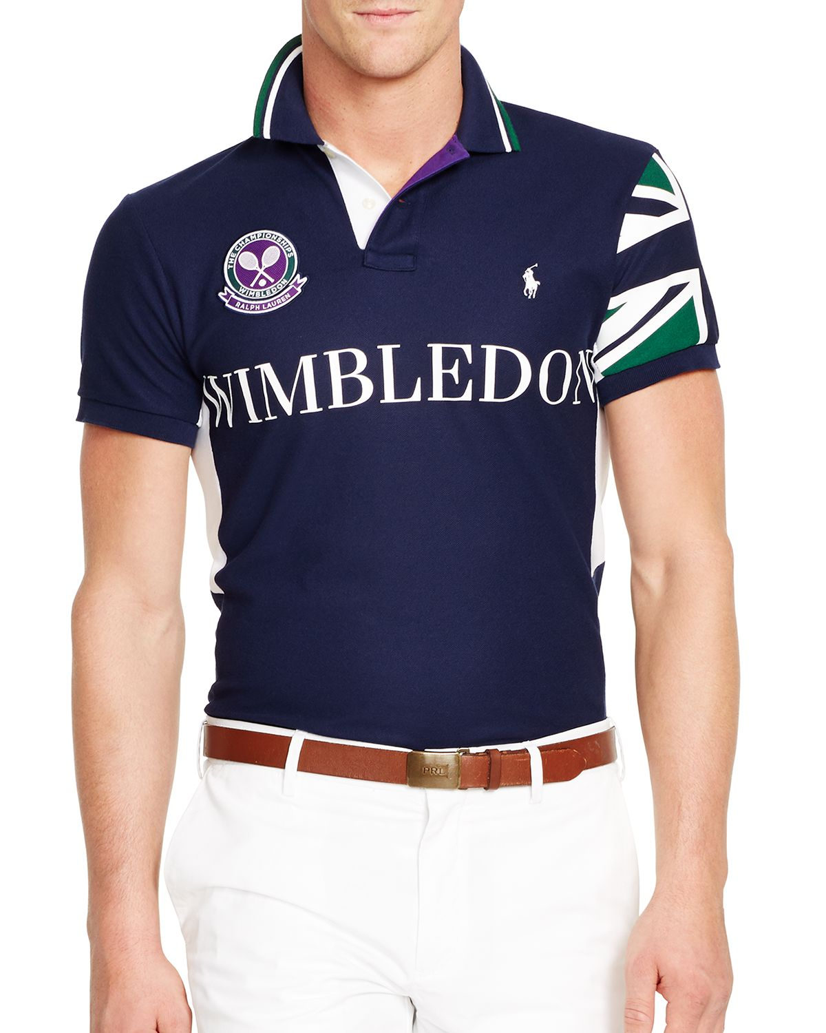 ... polo ralph lauren custom fit rugby usa french navy ...