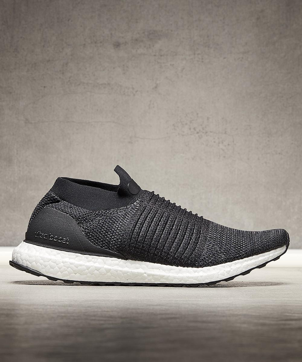 823bafaad25 ... discount code for adidas. mens black ultra boost laceless trainer b0659  50a9b
